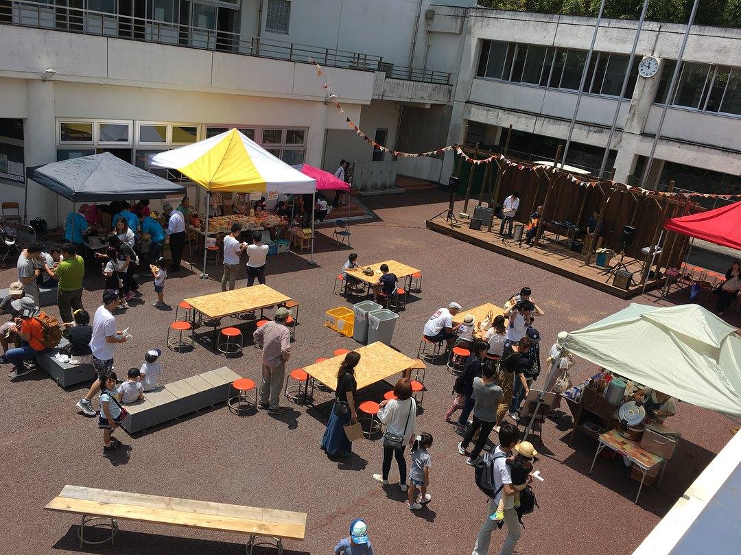 旧片浜小学校 でオープニングイベント が開催されるということで、『 #カタショーワンラボ 』に行ってきました!